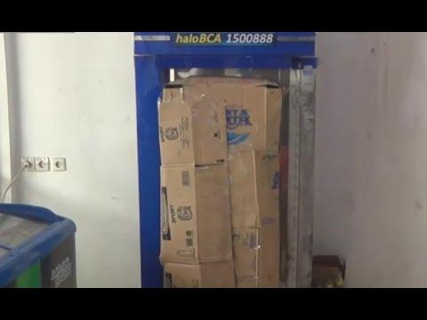 Mesin ATM Dibobol Pencuri, Uang Ratusan Juta Raib Mp3