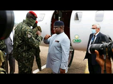 President Bio Met With Guinean Head Of State Colonel Mamady Doumbouya - Sierra Network