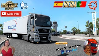 "Euro Truck Simulator 2 (1.40)   MAN TGX Euro6 Delivery Almeria to Granada Spain DLC Iberia by SCS DLC Krone Trailer by SCS Animated gates in companies v3.8 [Schumi] Real Company Logo v1.4 [Schumi] Company addon v1.9 [Schumi] Trailers and Cargo Pack by Jazzycat Motorcycle Traffic Pack by Jazzycat FMOD ON and Open Windows Naturalux Graphics and Weather Spring Graphics/Weather v4.0 (1.40) by Grimes Test Gameplay ITA Europe Reskin v1.1 by Mirfi + DLC's & Mods  For Donation and Support my Channel https://paypal.me/isabellavanelli?loc...?...  SCS Software News Iberian Peninsula Spain and Portugal Map DLC Planner...2020 https://www.youtube.com/watch?v=NtKeP...?... Euro Truck Simulator 2 Iveco S-Way 2020 https://www.youtube.com/watch?v=980Xd...?... Euro Truck Simulator 2 MAN TGX 2020 v0.5 by HBB Store https://www.youtube.com/watch?v=HTd79...?...  All my mods I use in the video Promods map v2.55 https://www.promods.net/setup.php????...? Traffic mods by Jazzycat https://sharemods.com/hh8z6h9ym82b/pa...?... https://sharemods.com/lpqs4mjuw3h6/ai...?... https://ets2.lt/en/painted-bdf-traffi...?... https://sharemods.com/eehcavh87tz9/bu...?... Graphics mods https://download.nlmod.net/??????????...? https://grimesmods.wordpress.com/2017...?... Europe Reskin https://forum.scssoft.com/viewtopic.p...?... Trailers pack https://ets2.lt/en/trailers-and-cargo...?... https://tzexpress.cz/???????????????? Others mods Company addon v1.9 [Schumi] https://forum.scssoft.com/viewtopic.p...?... Real Company Logo v1.4 [Schumi] https://forum.scssoft.com/viewtopic.p...?... Animated gates in companies v3.9 [Schumi https://forum.scssoft.com/viewtopic.p...?...  #TruckAtHome???????????????? #covid19italia???????????????? Euro Truck Simulator 2    Road to the Black Sea (DLC)    Beyond the Baltic Sea (DLC)   Vive la France (DLC)    Scandinavia (DLC)    Bella Italia (DLC)   Special Transport (DLC)   Cargo Bundle (DLC)   Vive la France (DLC)    Bella Italia (DLC)    Baltic Sea (DLC) Iberia (DLC)   American Truck Simulator New Mexico (DLC) Oregon (DLC) Washington (DLC) Utah (DLC) Idaho (DLC) Colorado (DLC)  My favorite Youtubers Neranjana Wijesinghe https://www.youtube.com/c/NeranjanaWi...?... H&AHoney Gaming BG https://www.youtube.com/c/HAHoneyGami...? Fox On The Box https://www.youtube.com/c/FoxOnTheBox...? ZN GAMER https://www.youtube.com/channel/UCUSQ...?... Kapitan Kriechbaum https://www.youtube.com/channel/UCrEQ...?... Darwen https://www.youtube.com/channel/UCyK8...?... SimülasyonTÜRK https://www.youtube.com/user/simulasy...?... Squirrel https://www.youtube.com/user/DaSquirr...?... Toast https://www.youtube.com/channel/UCy2R...?... Jeff Favignano https://www.youtube.com/user/jfavigna...?     I love you my friends Sexy truck driver test and gameplay ITA  Support me please thanks Support me economically at the mail vanelli.isabella@gmail.com  Roadhunter Trailers Heavy Cargo  http://roadhunter-z3d.de.tl/?????????...? SCS Software Merchandise E-Shop https://eshop.scssoft.com/???????????...?  Euro Truck Simulator 2 http://store.steampowered.com/app/227...?... SCS software blog  http://blog.scssoft.com/????????????????  Specifiche hardware del mio PC: Intel I5 6600k 3,5ghz Dissipatore Cooler Master RR-TX3E  32GB DDR4 Memoria Kingston hyperX Fury MSI GeForce GTX 1660 ARMOR OC 6GB GDDR5 Asus Maximus VIII Ranger Gaming Cooler master Gx750 SanDisk SSD PLUS 240GB  HDD WD Blue 3.5"" 64mb SATA III 1TB Corsair Mid Tower Atx Carbide Spec-03 Xbox 360 Controller Windows 10 pro 64bit"