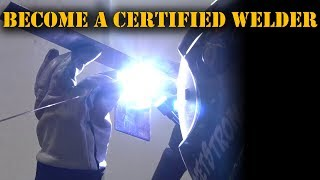 TFS: Get Friggin Certified! Become a Certified Welder #GetFrigginCertified