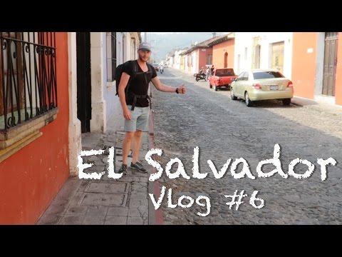 Travel VLOG 6 | Hitchhiking to El Salvador | Surfer's paradise El Tunco