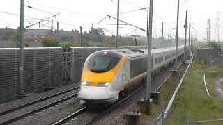 High speed trains on High Speed One! 26/05/14