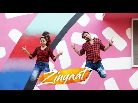 Zingaat Song | Dhadak | Dance Cover | Aditi Vikrant | Dancercise | Ishaan & Janhvi | Zingat