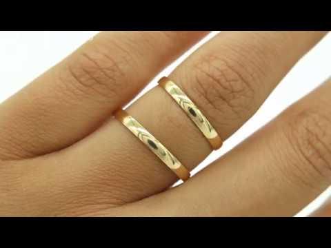 d2f8757ce8c Alianças de Casamento ou Noivado Cód. 1020 - Rei das Alianças - YouTube