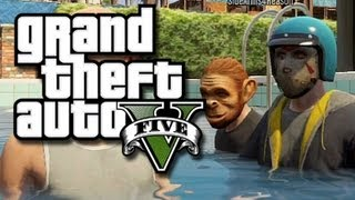 GTA 5 Online Multiplayer Funny Gameplay Moments! #3 (GTA V Online Multiplayer Glitches!) thumbnail