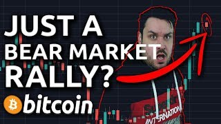 "Just A Bitcoin ""Bear Market Rally""?"