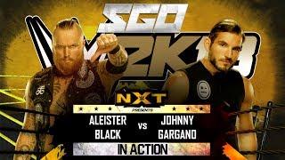 WWE 2K18 | NXT TakeOver - Aleister Black vs Johnny Gargano