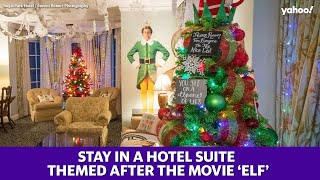 This 'Elf'-themed hotel suite is the perfect way for guests to get into the holiday spirit