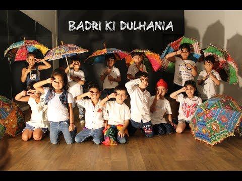Badri Ki Dulhania  Toddlers batch  G M Dance Centre