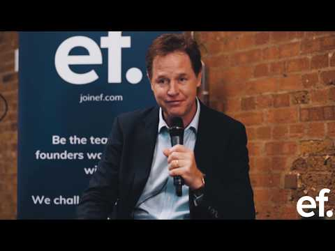 EF In Conversation with Nick Clegg