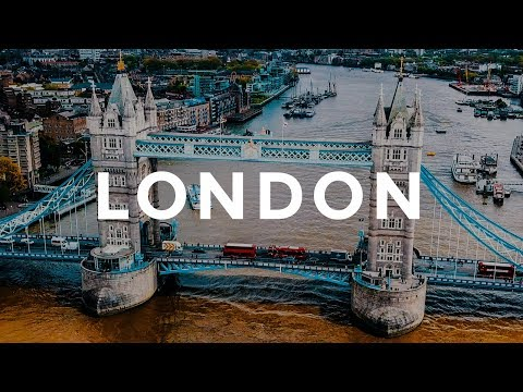 LONDON - BEST CITY TRAVEL IN THE WORLD. DJI Mavic Drone Aerial Footage. Travel To England, UK