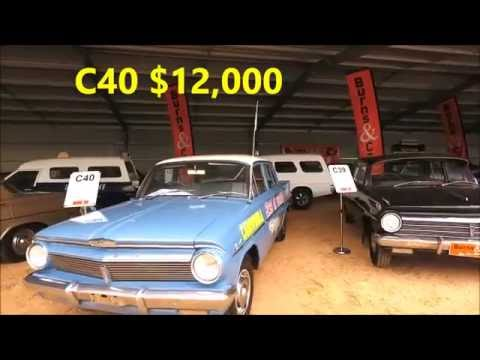 Holden Collector Auction Charlie McCarron SOLD PRICES 2016