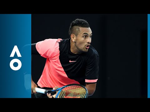 Nick Kyrgios v Jo-Wilfried Tsonga match highlights (3R) | Australian Open 2018