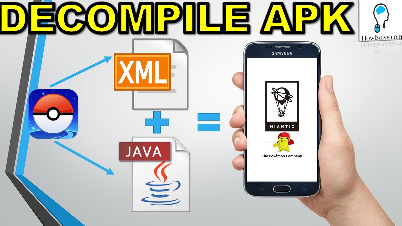 Decompile APK Get Java + Xml Change Apps - YouTube