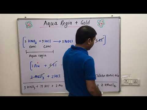 Aqua Regia / Royal Water / Kingly Water