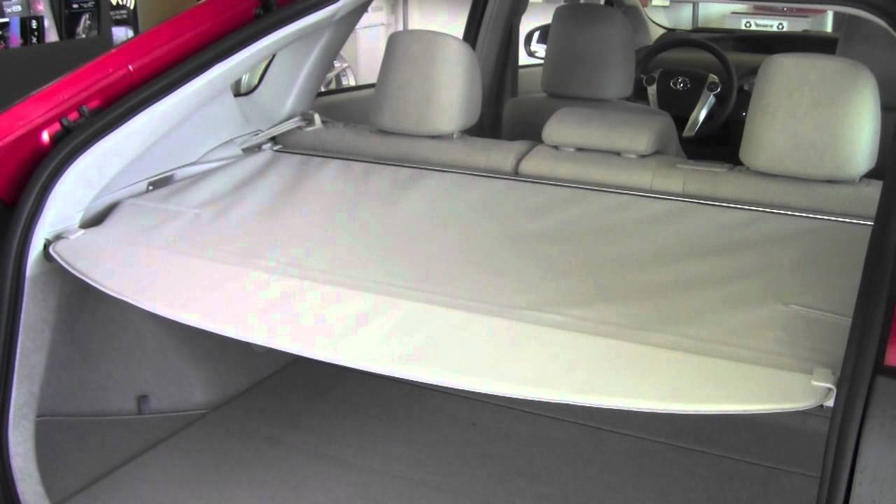 2012 Toyota Prius Tonneau Cover How To By Toyota