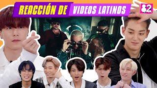 GRUPO DE KPOP VAV REACCIONA A REGGAETON (ROSALÍA, J Balvin,Daddy Yankee, Ozuna)
