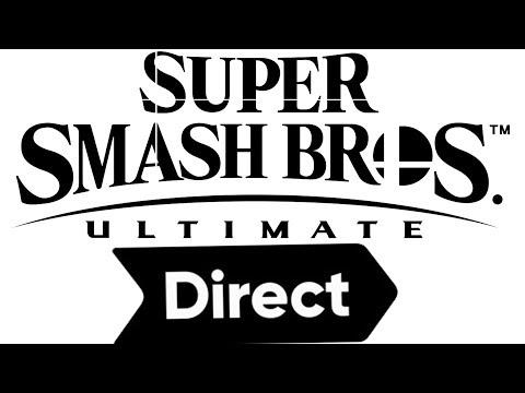 Super Smash Bros Ultimate Direct LIVE REACTION!