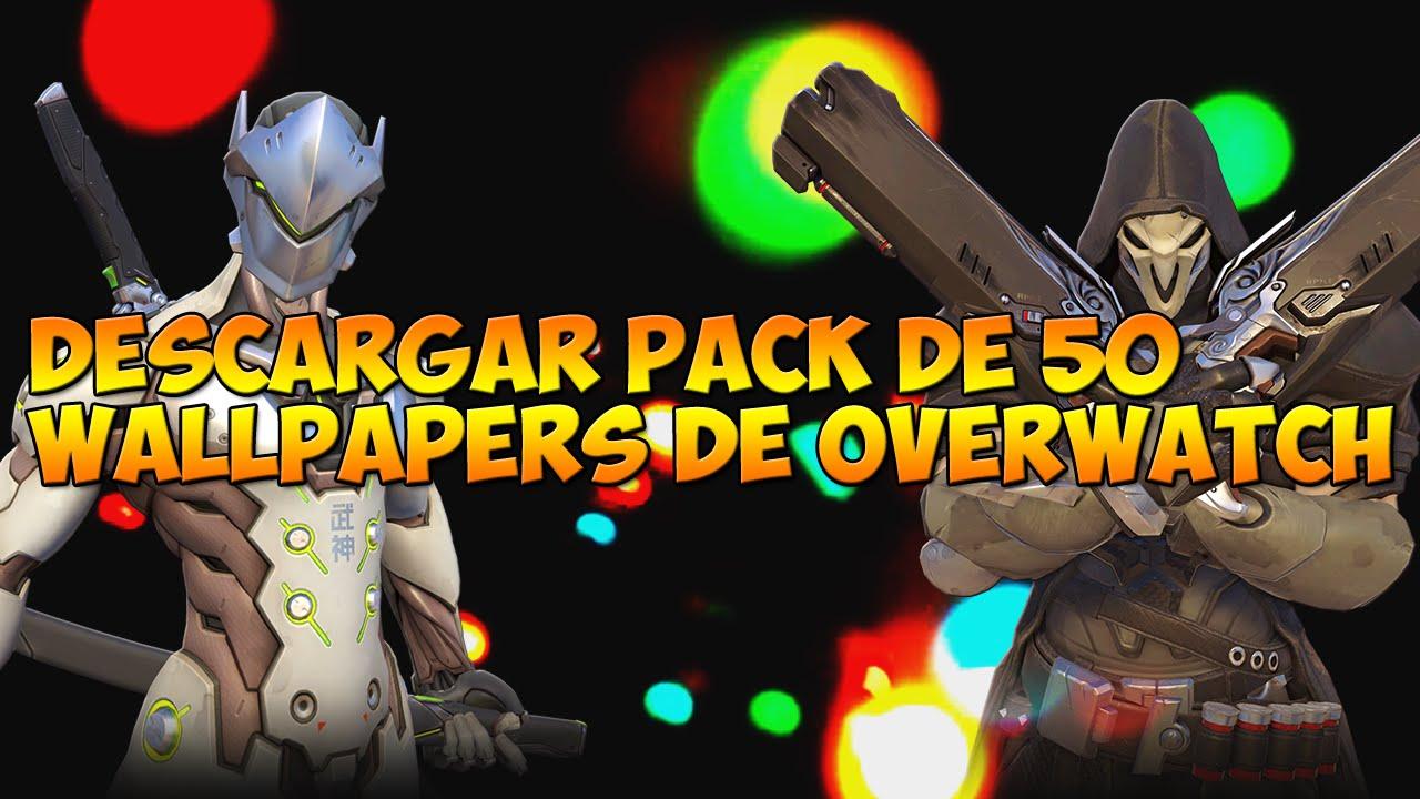 Desarcargar Super Pack De 50 Wallpapers De Overwatch Full Hd