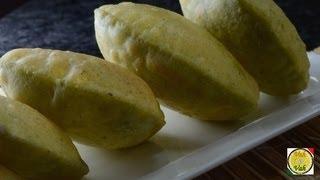 Green Peas Poori  - By Vahchef @ vahrehvah.com
