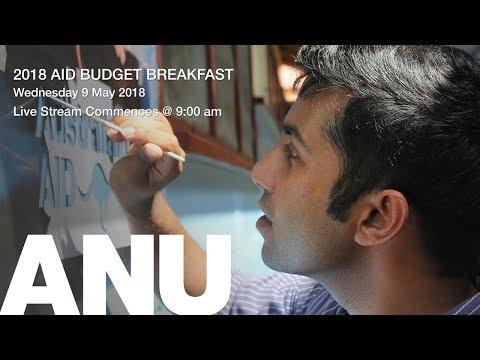 LIVE STREAM: 2018 aid budget breakfast