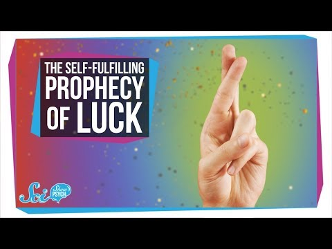The Self-Fulfilling Prophecy of Luck