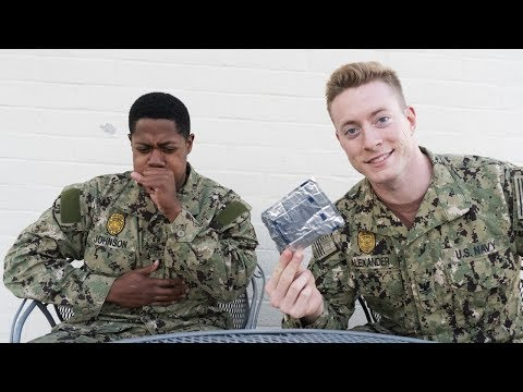 American Military Tries Russian Military Food (MRE)