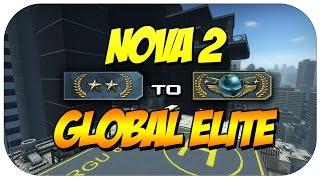CSGO - Road to Global Elite - Gold Nova 2