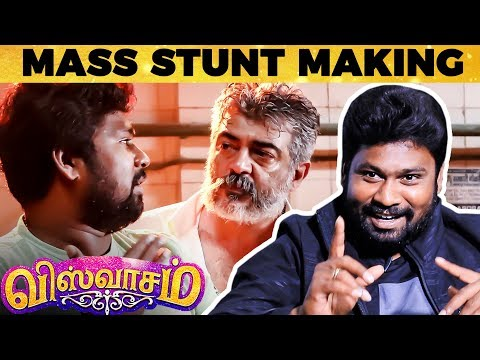 Viswasam Fights - TERROR Scene by Scene Narration by Stunt Master Dhilip Subbarayan