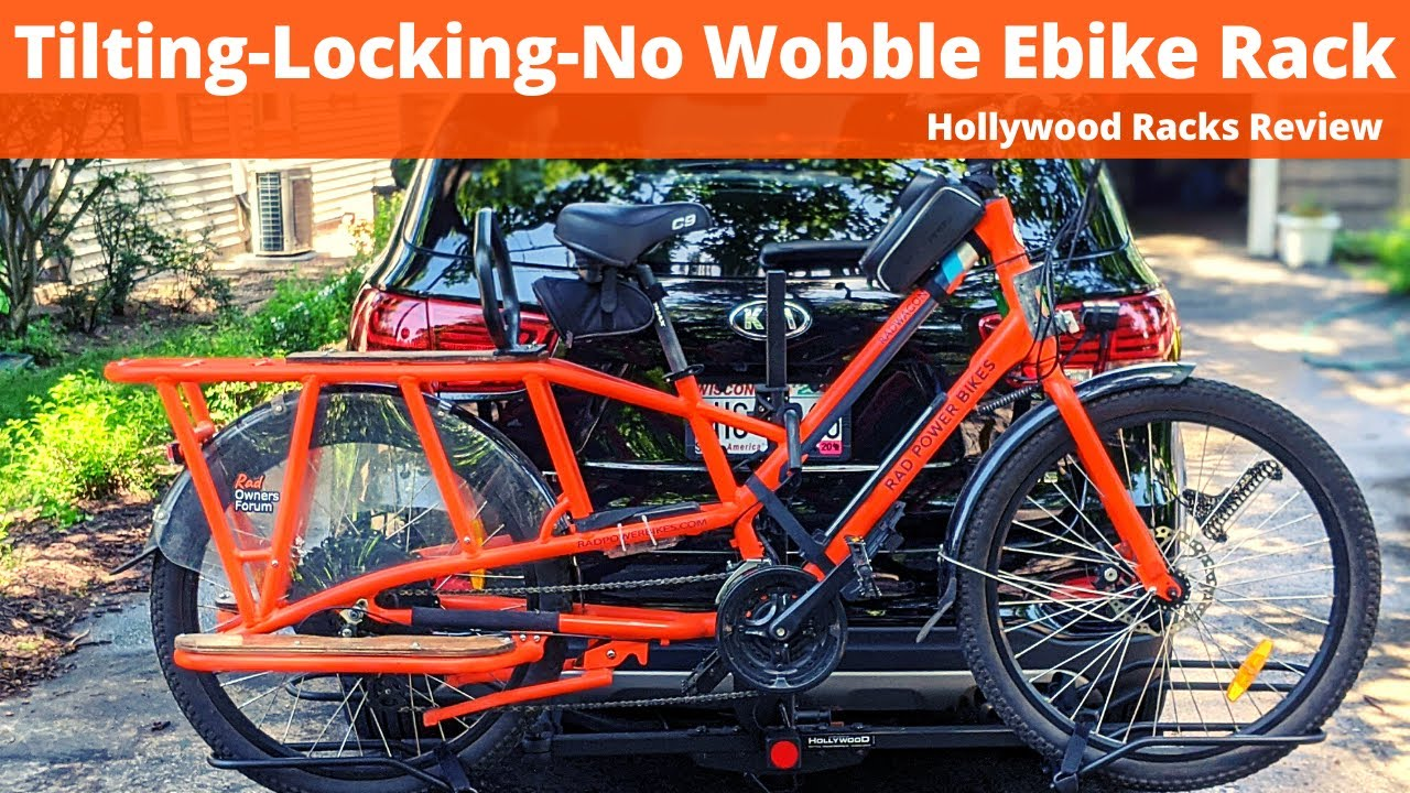 Quality Hitch Mounted Ebike Rack (Hollywood Racks Review)