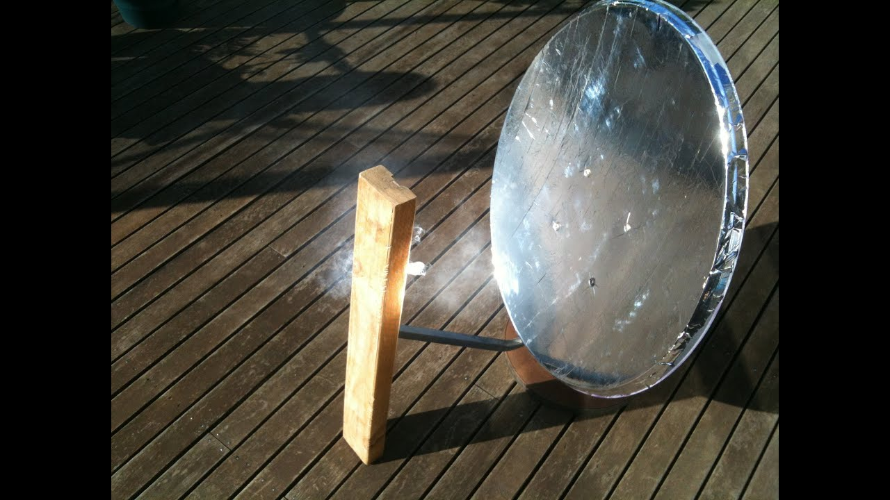How To Build A Solar Cooker From An Old Satellite Dish