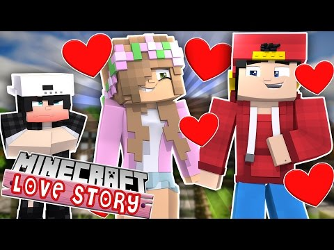 LITTLE KELLY AND ROPO MAKE RAVEN JEALOUS! Minecraft Love Story (Custom Roleplay)