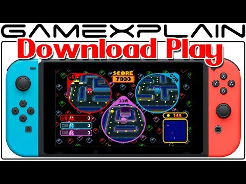 Pac-Man VS On Switch Has Download Play In Namco Museum Via EShop