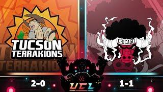Pokémon USUM LIVE Wi-Fi Battle [UCL S3W3] Tucson Terrakions vs Chicago Bouffalants