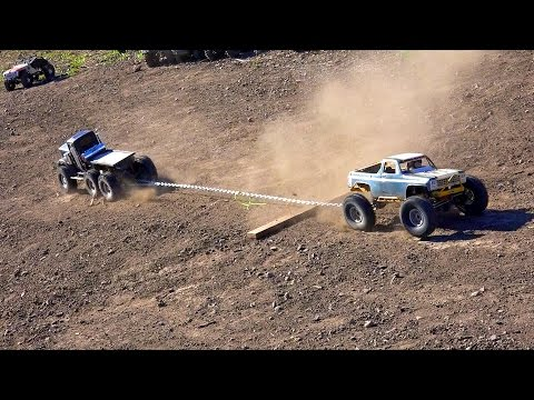 RC ADVENTURES - TTC 2015 - TUG of WAR - Tough Truck Challenge  (Event 2)