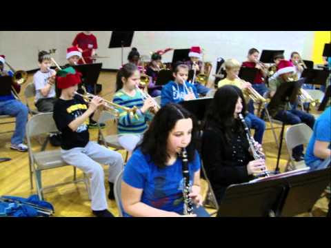 Chandler Intermediate Band - Stompin' on the House Top