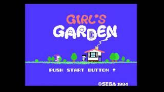 Analogue Mega Sg - Girl's Garden, SG-1000 - FPGA - Yuji Naka, Sonic - Reference Quality Video