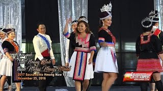 SUAB HMONG E-NEWS:  Former Mr. and Miss Hmong California, 2017 Miss Hmong Contestants, and dance