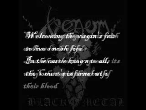 Venom   Countess Bathory Lyrics