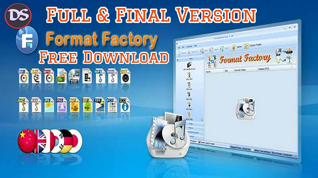 format factory for pc free download