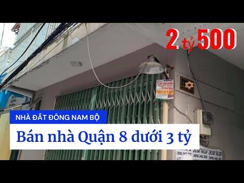 Bán nhà hẻm 201 Dương Bá Trạc P1 Quận 8 dưới 3 tỷ, cách cầu Nguyễn Văn Cừ chỉ 500m