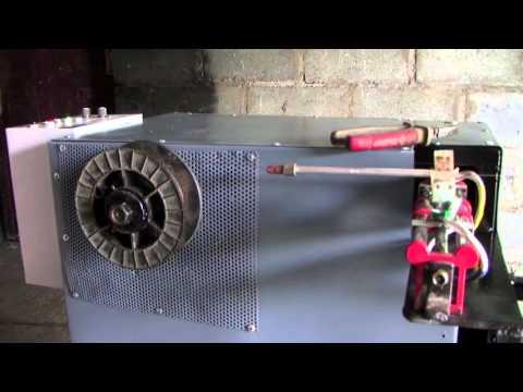 видео: Станок для перемотки проволоки (УНПП 0,8 2)