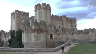 Coca y su impresionante castillo gótico-mudéjar