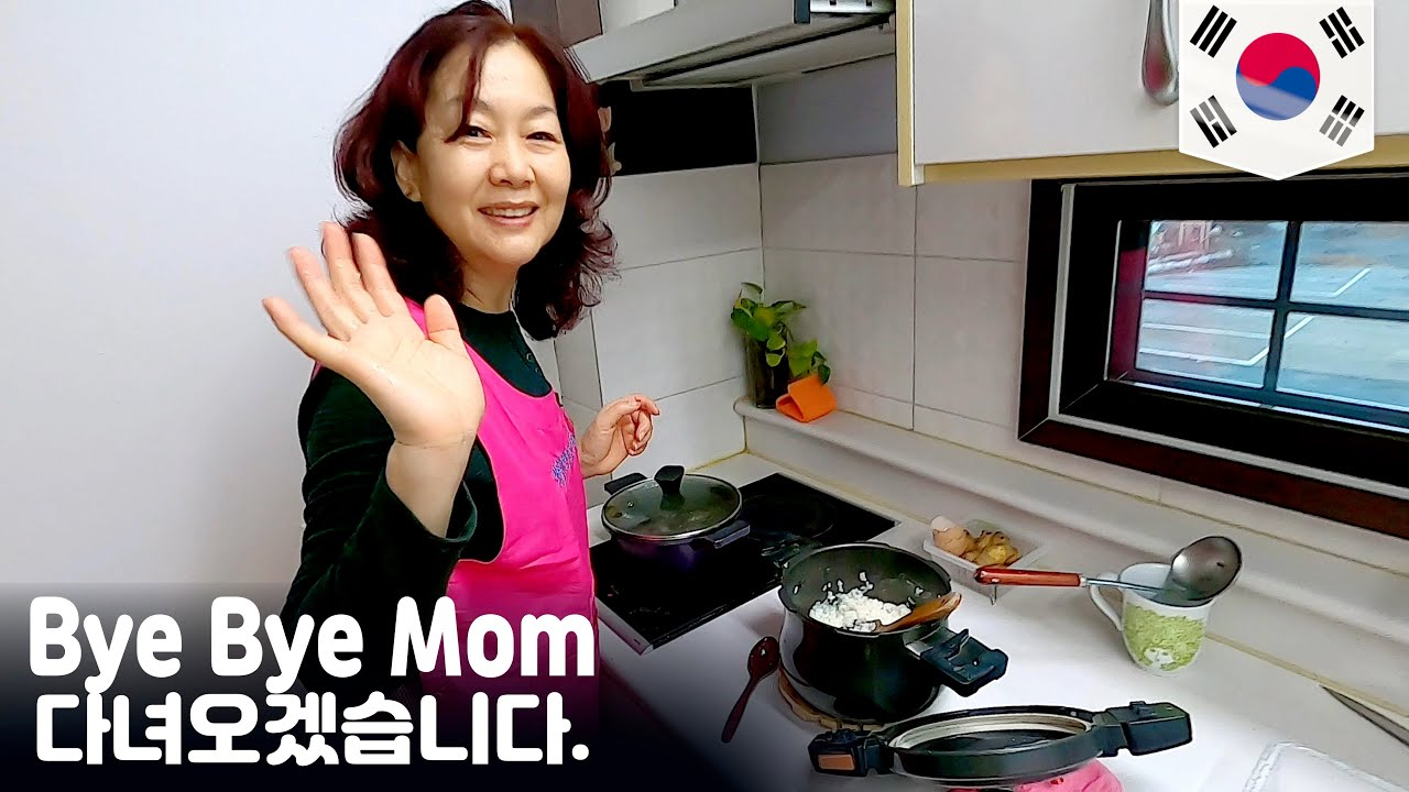 Speaking ONLY Bangla to My Mom | Bye Bye Mom   -South Korea 【Final】