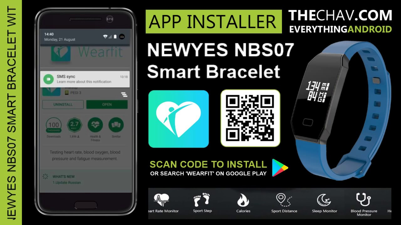 Installing the Wearfit Android App