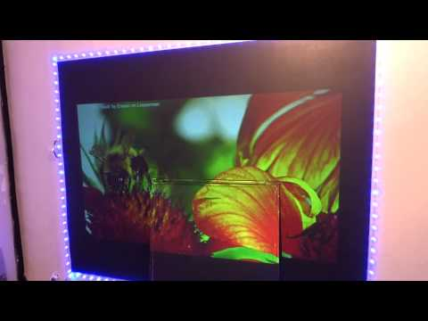 BLACK PAINTED GLASS 4K PROJECTOR SCREEN!