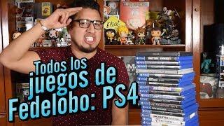 Todos los juegos de Fedelobo: PS4
