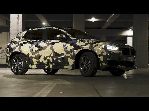 2018 BMW X2 Digital Camouflage @ Milano