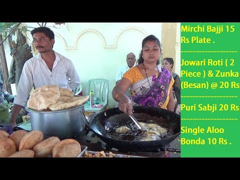 She Manages Everything - Most Hard Working Lady in the World - Best Street Food India