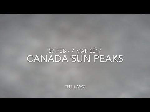 2017 02 Canada Sun Peaks Skiing Snowboard